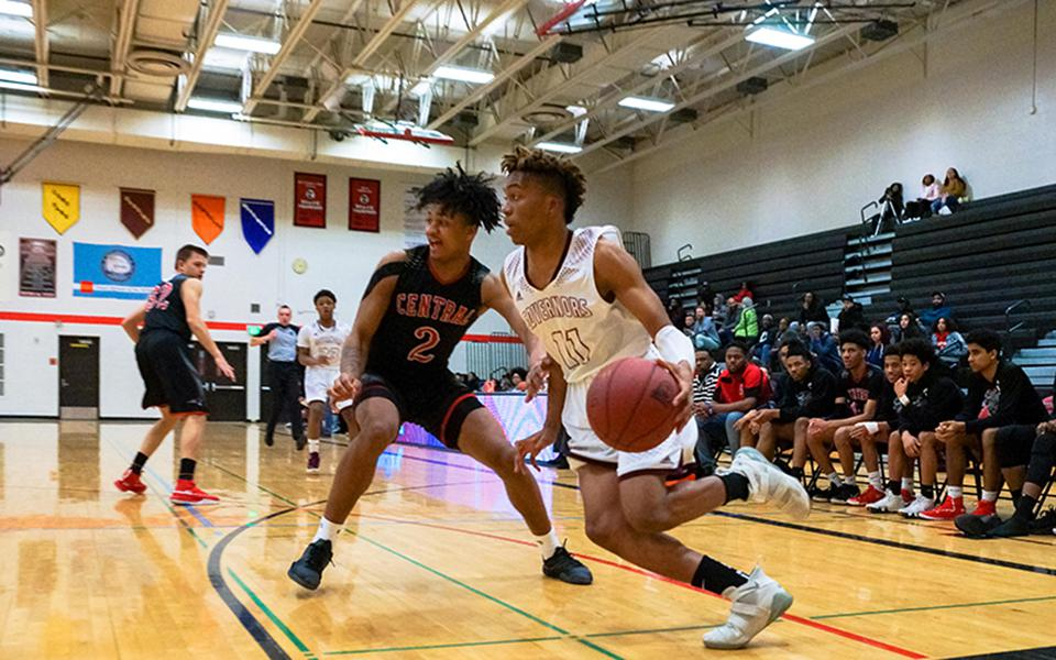St. Paul Johnson defeated St. Paul Central in January and can take a commanding lead in the St. Paul City Conference standings with a victory in Tuesday's rematch. Photo by Korey McDermott, SportsEngine