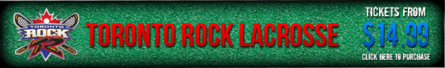 Toronto Rock ad