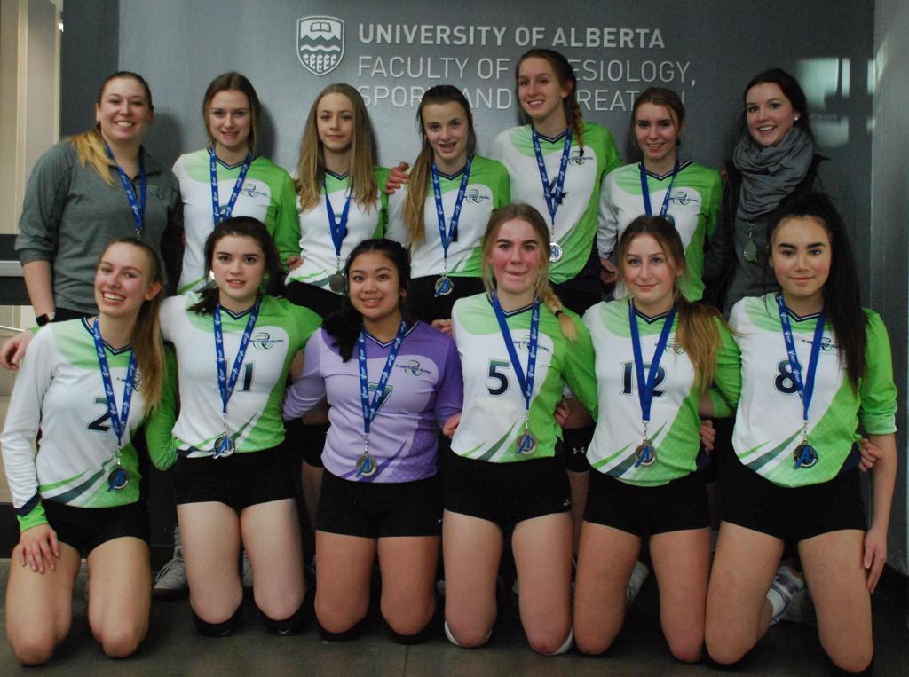 U16 Women Blue Team - Premier 1 Blue Playoff Silver Medalists - Way To Go Girls!
