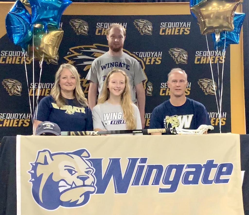 Allison Gerdes signs with Wingate