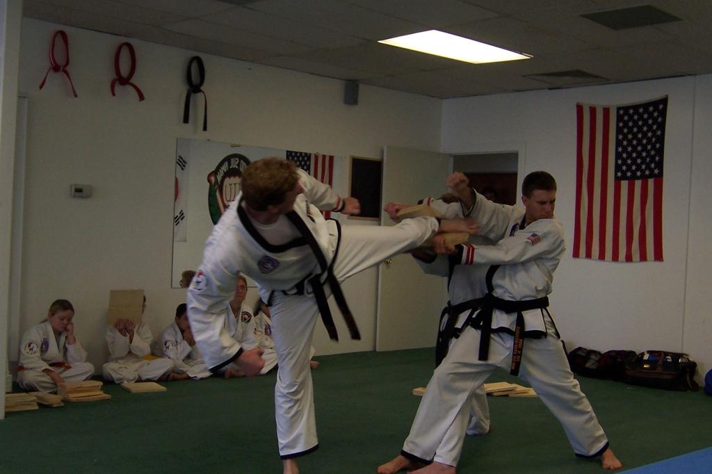 Side kick break