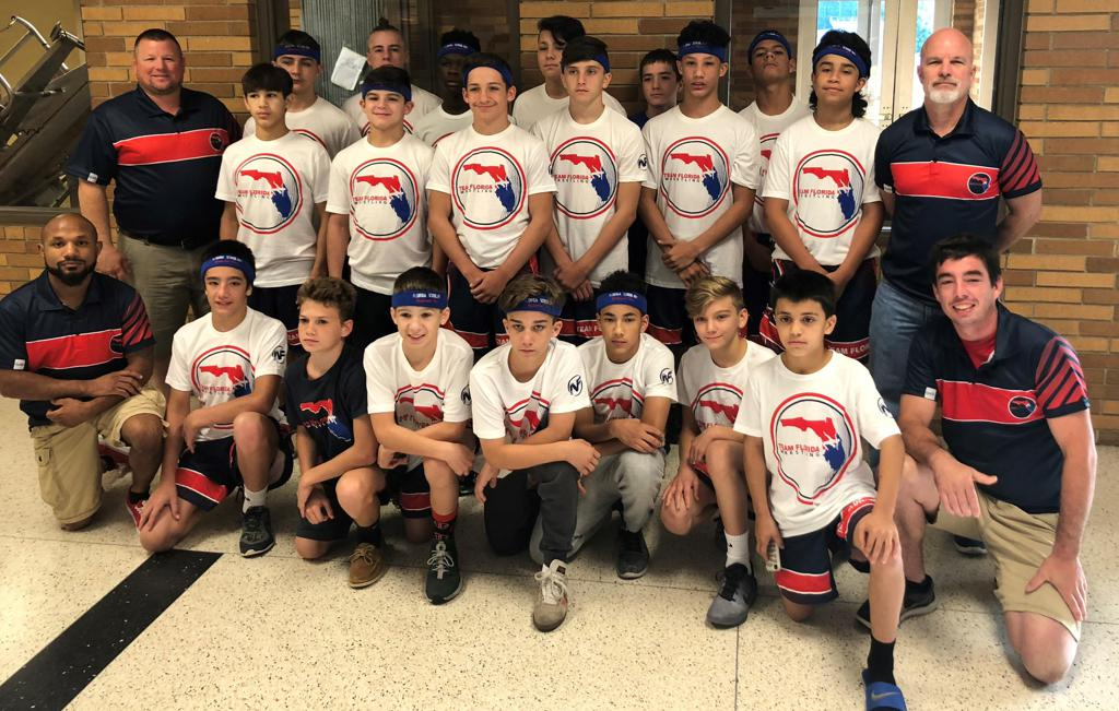 Team Florida at 2018 Schoolboy Duals