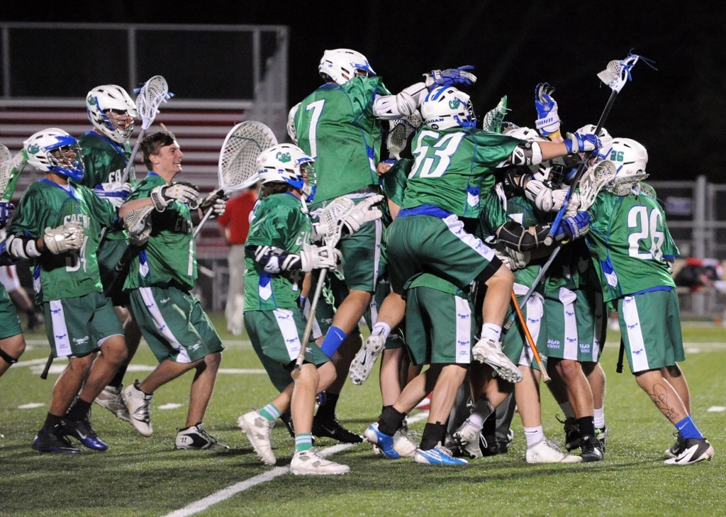 Eagan's win over the two-time defending state champions Benilde St. Margaret's