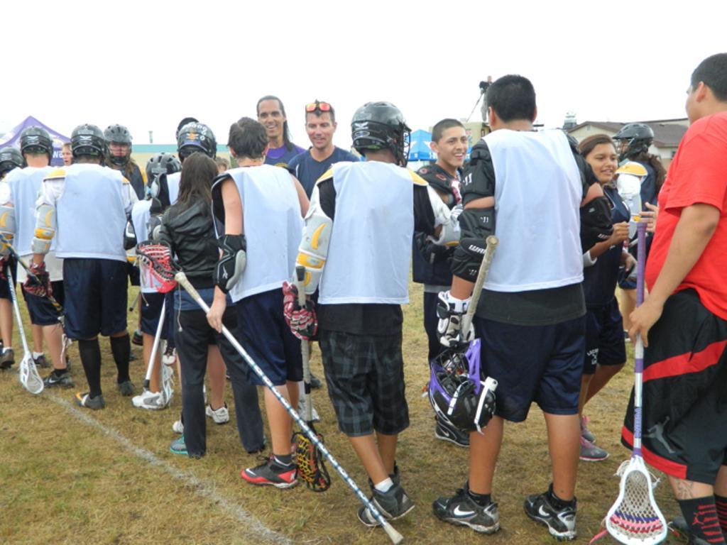 swarm native american lax life camp presented by photo credit alec schimke
