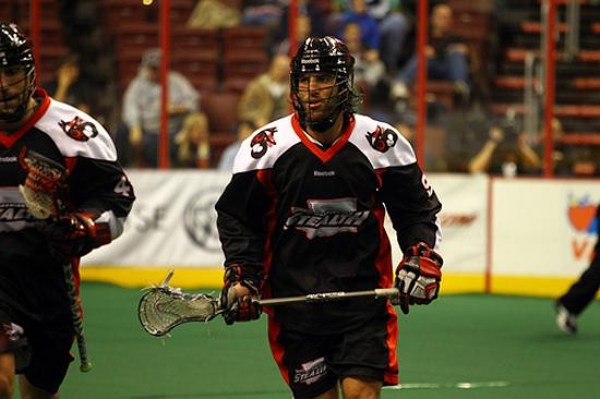 Paul Rabil with the Washington Stealth in 2010. On Friday, the Rochester Knighthawks acquired his rights from the Edmonton Rush.