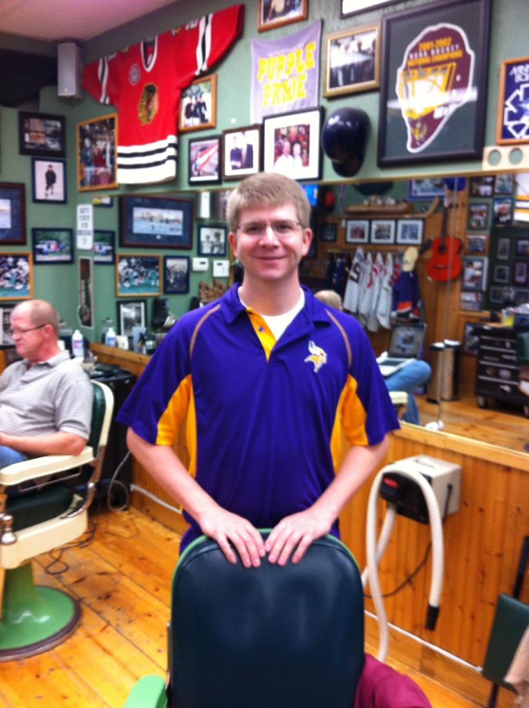 Brandon at Dick's Barbers Edina