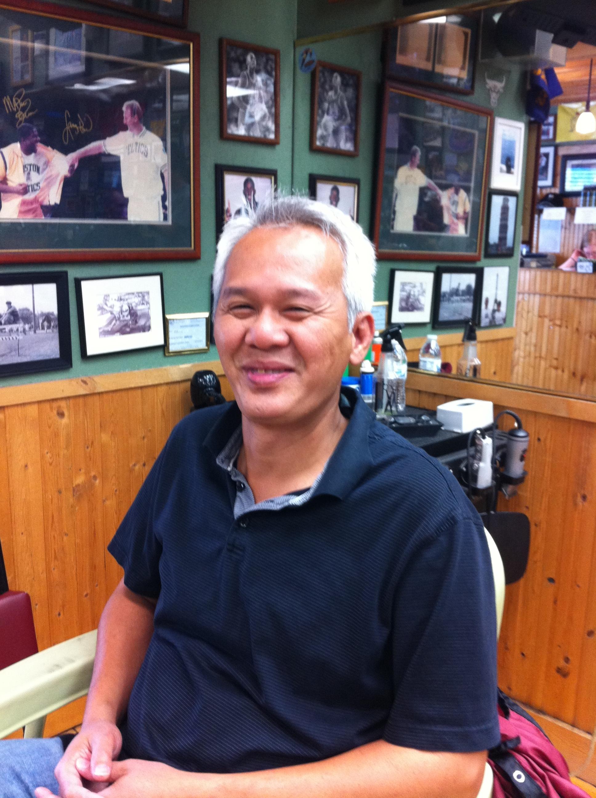 Long at Dick's Barbers Edina