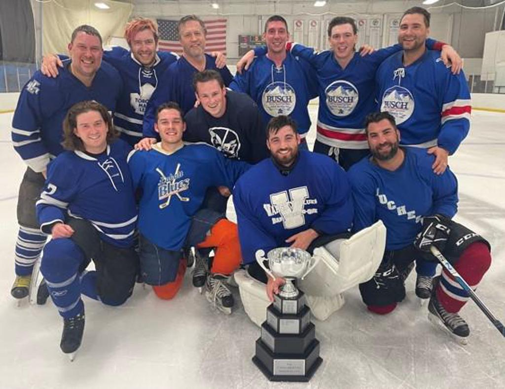 2021 KCIC B League Champions - The Maple Leafs