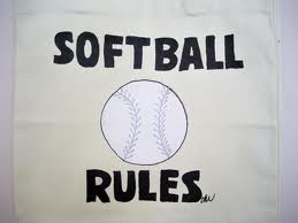 Softball Rules