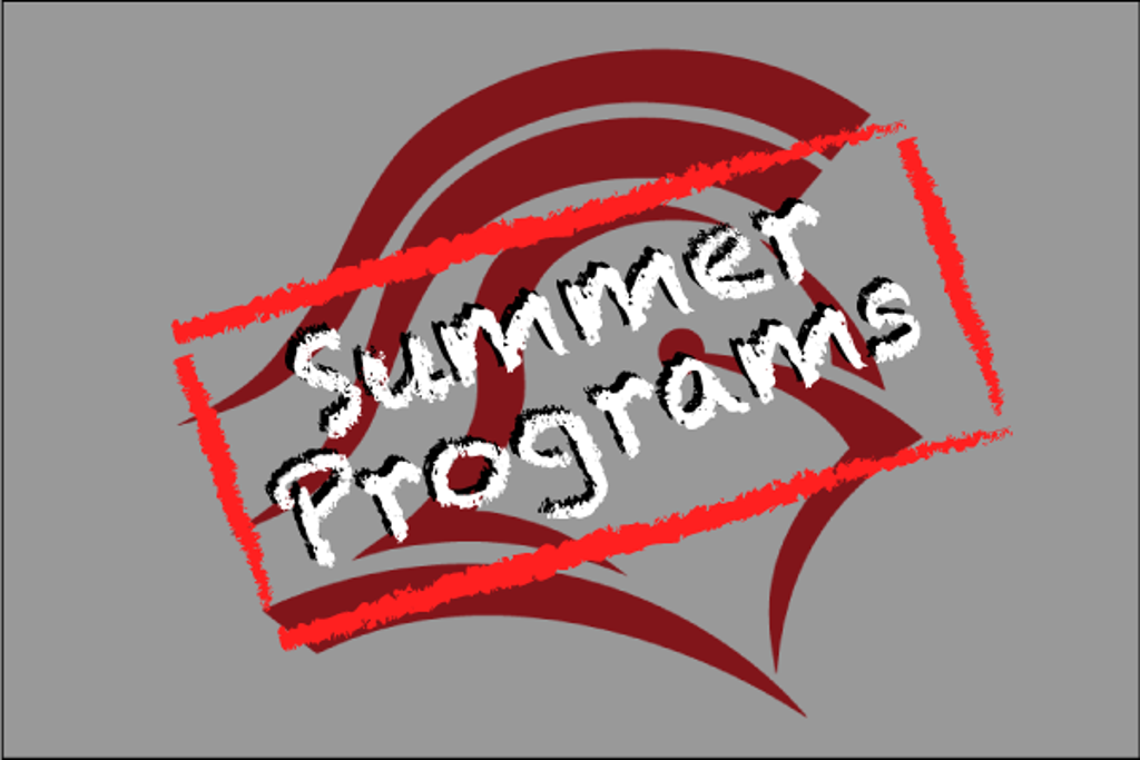 2020 Summer Programs are completed - we look forward to seeing you all again next Summer!