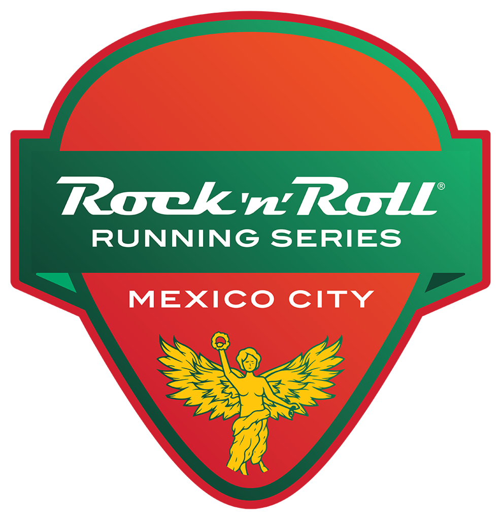 Rock 'n' Roll Mexico City Guitar Pick logo
