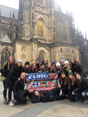 Gustavus Womens Team in Prague