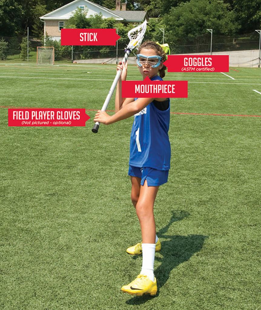 Girls Lacrosse Equipment