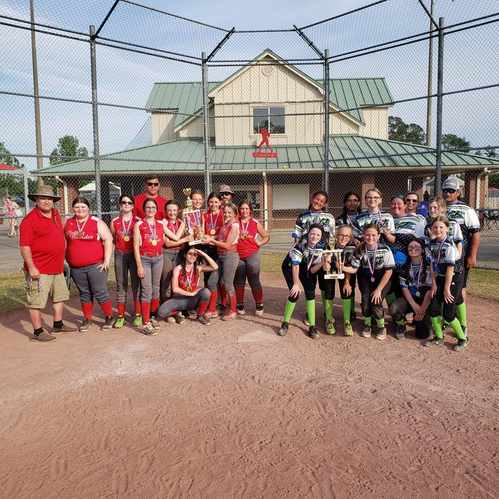 Best of Baldwin 12u champions central baldwin Rolling Thunder and Finalist Central Baldwin Savage