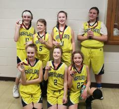 6th Grade Girls Win (3/2/19)