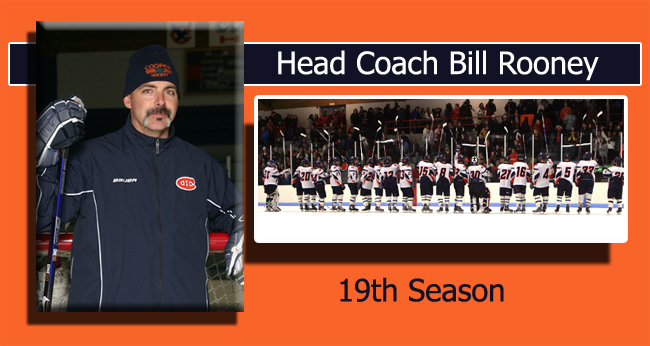 Coach Rooney of the Hawks