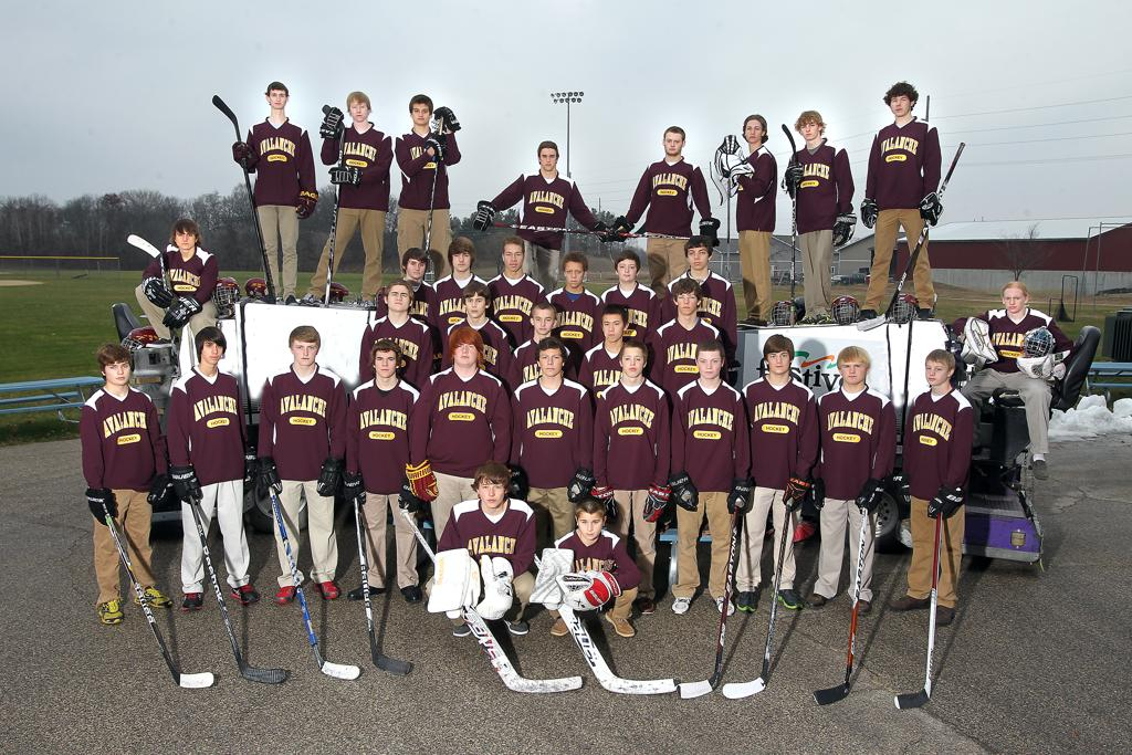 2012-2013 Avalanche HS Hockey Team