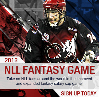 Fantasy NLL 2013 game