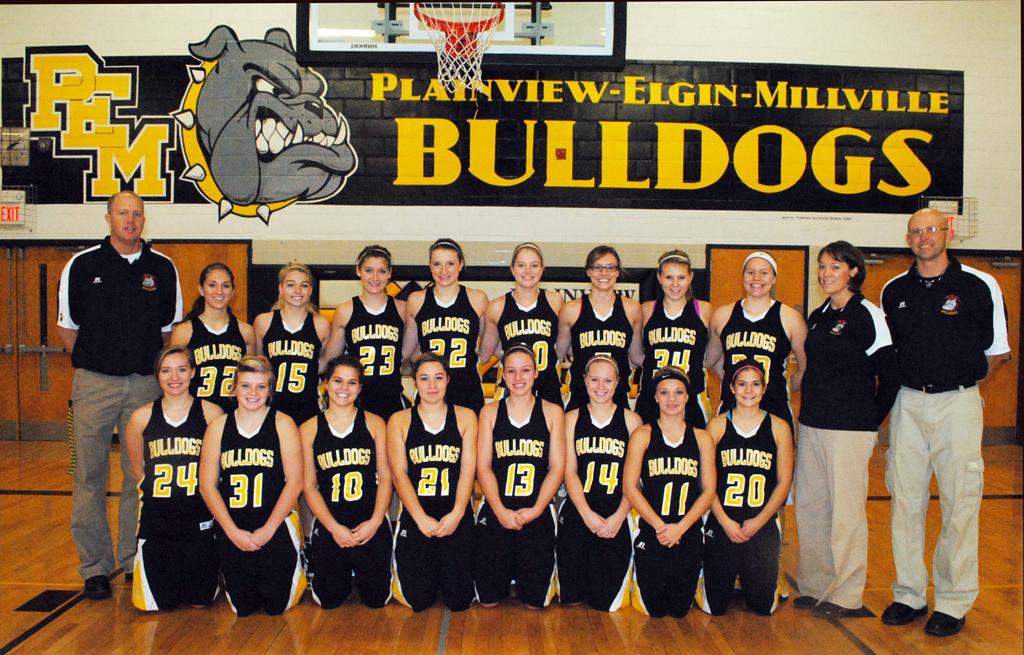 2012-13 Plainview-Elgin-Millville Bulldogs