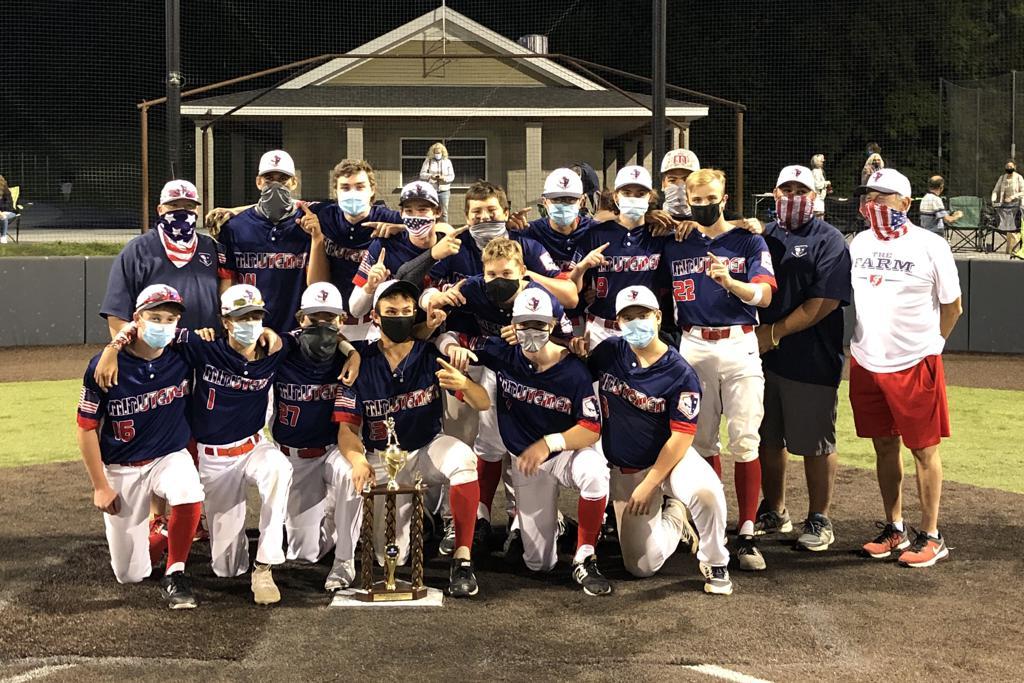 16u Team AXIS Minutemen 2020 Division Champions