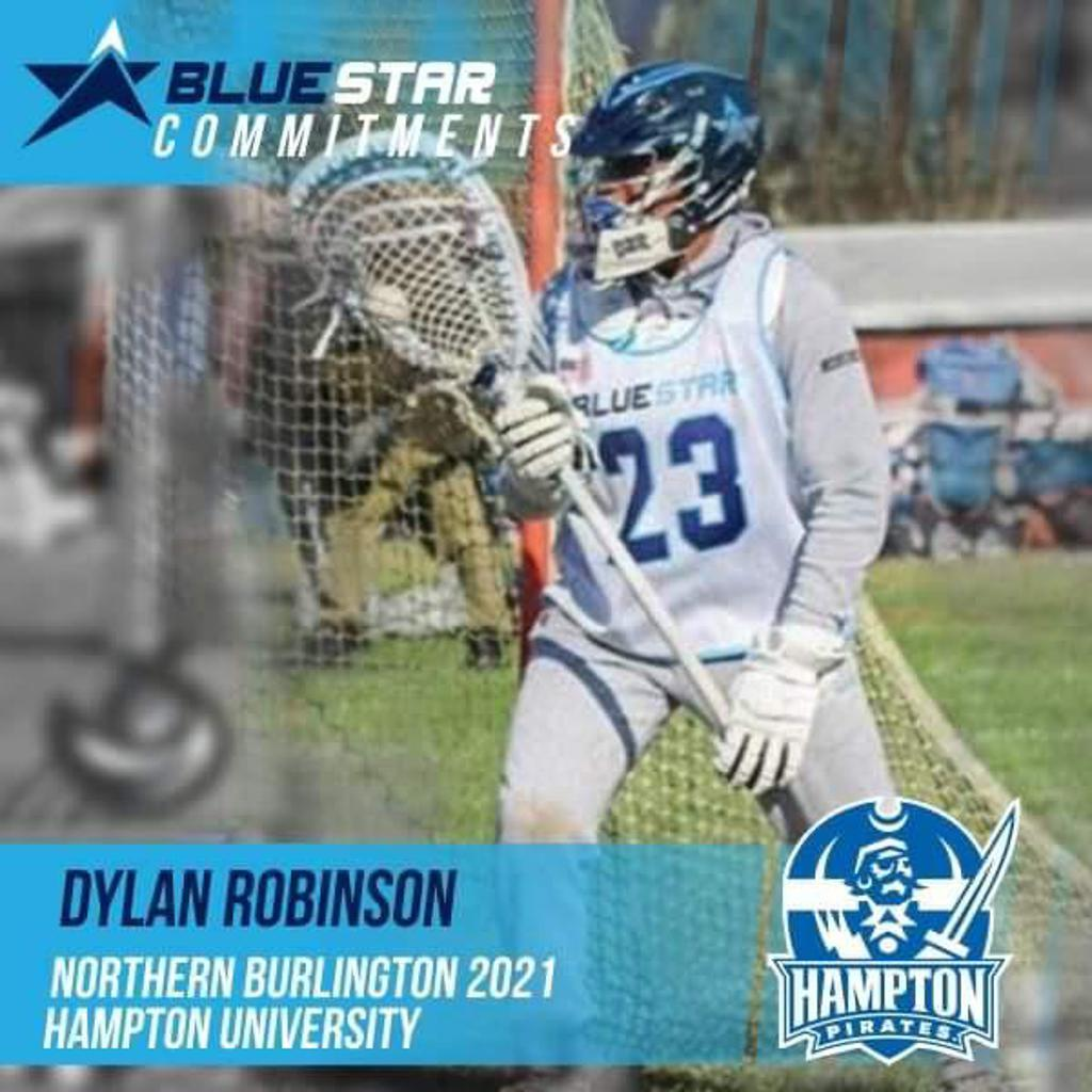 Dylan Robinson Blue Star Lacrosse Hampton