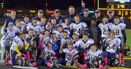 Coach Gaca's Pee Wee Team - 2012 D1 Chicagoland Champs