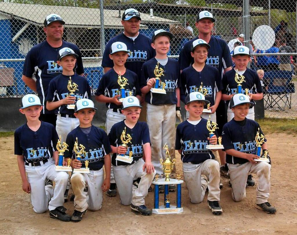 "I-70 Classic ""Thrill in The Ville"" Champions. Ohio Elite 9U (Arn) finished the weekend in Zanesville with a 5-0 Record."