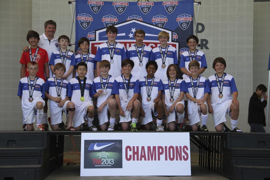 TNI 2013 U12 Boys Vapor 11v11 Champions