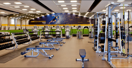 Sanford sports complex for Athletic training facility design