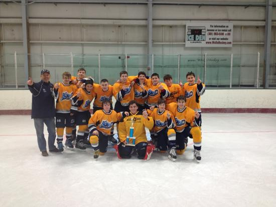 Top Shelf Spring Classic 2013 in Laurel, Bantam AA Champions
