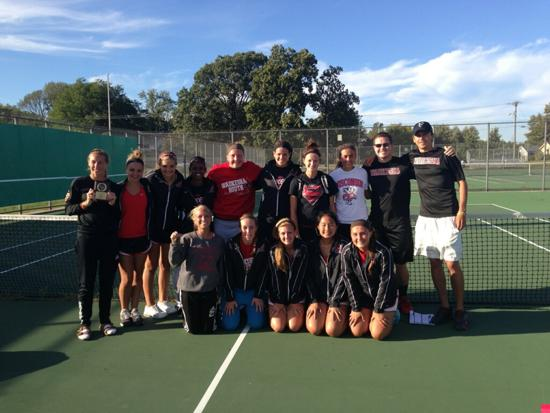 2013 Blackshirt Tennis Team