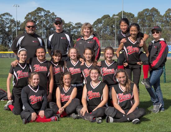 nova 14u softball team