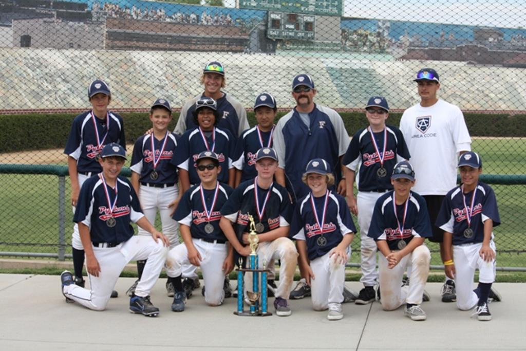 13u Pythons take 2nd Place in 2011 USSSA Labor Day Classic
