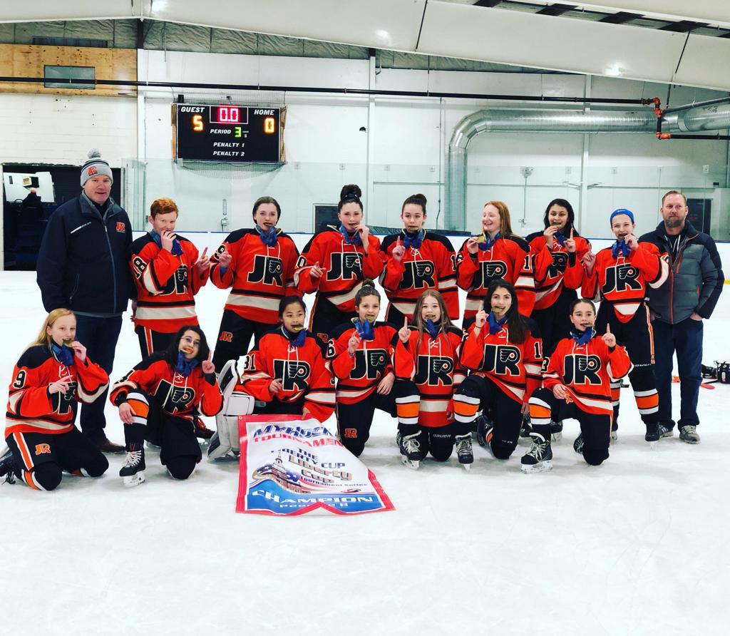 Girls 12UAA team wins Liberty Cup Tournament