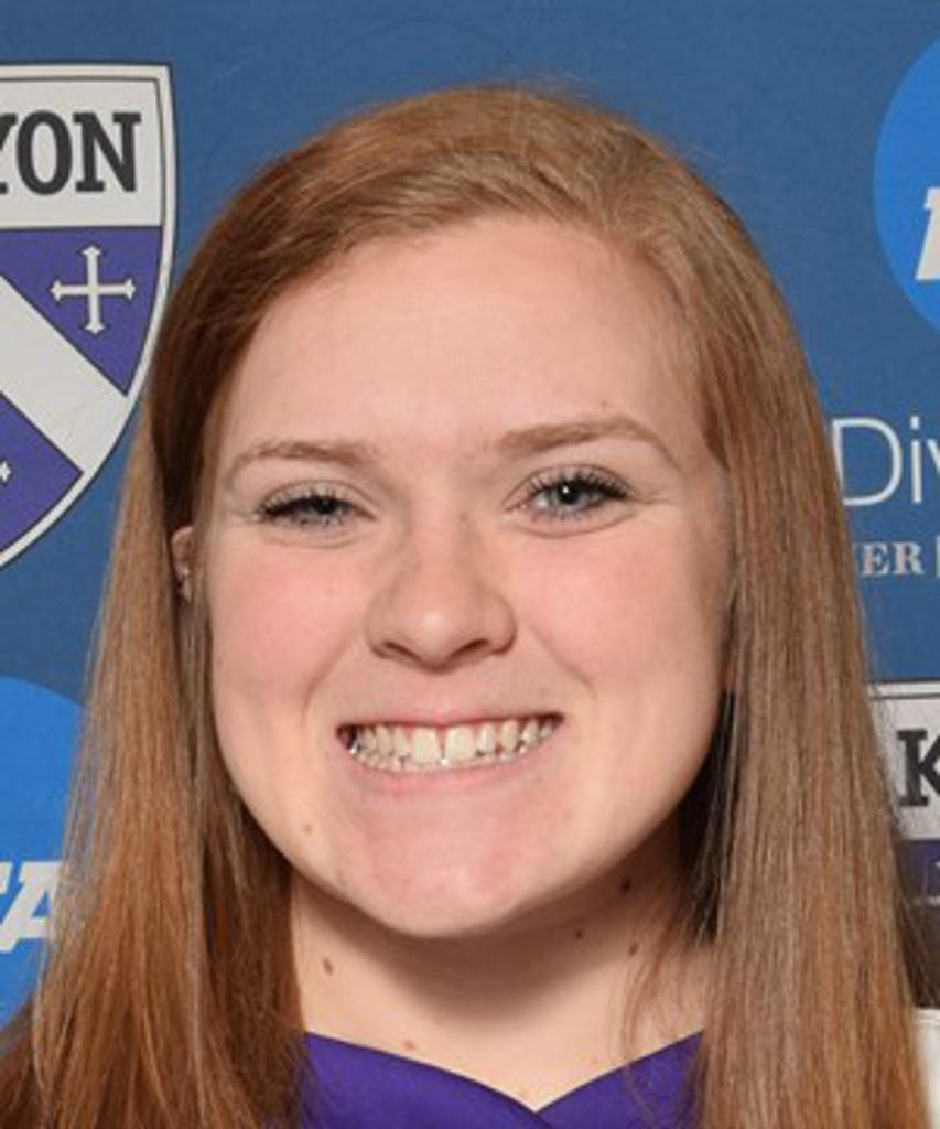 Sara Campagna (Kenyon) Receives NCAC Softball Athlete of the Week