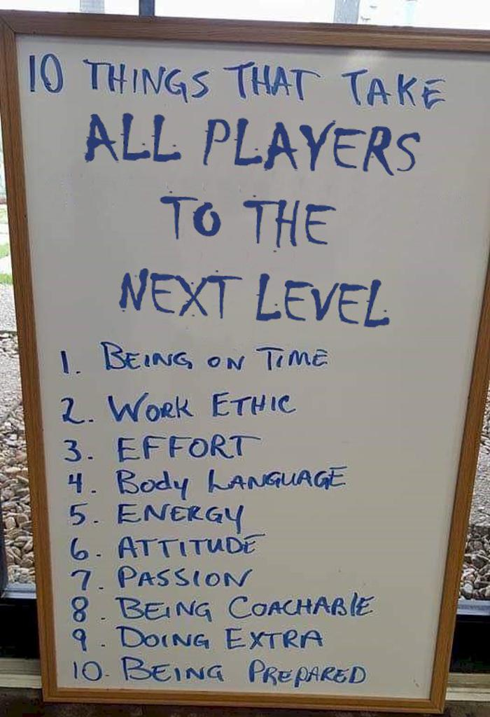 Ten Things to Advance to the Next Level in Hockey