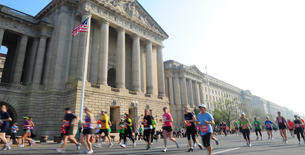 Running through DC