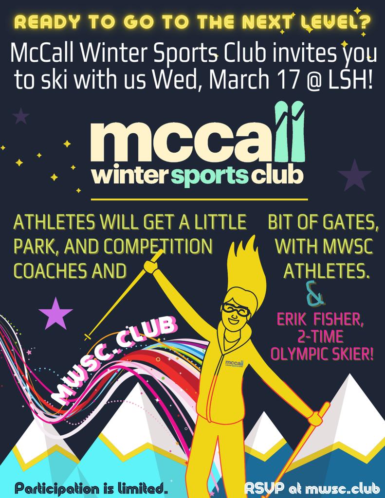 Ski free with MWSC Spring Break