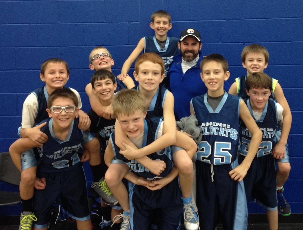 5th Grade Basketball 5th Grade Boys White