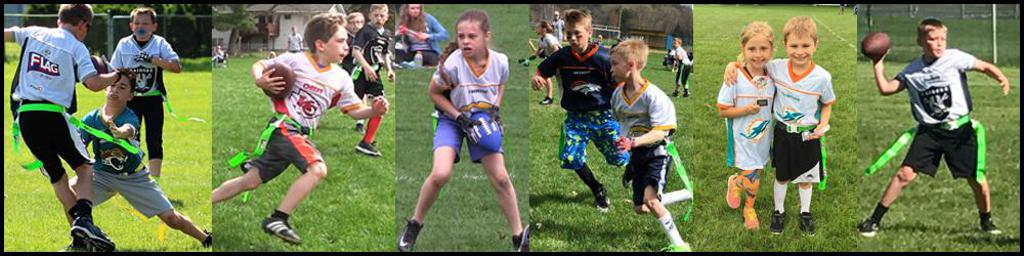 Carbonite Sports Youth Flag Football - official league of NFL Flag Football