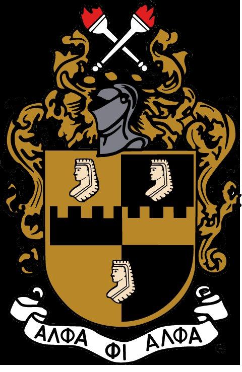 Alpha Phi Alpha Shield