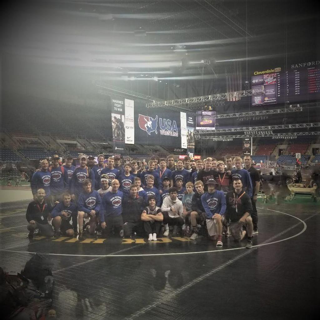 Cadet & Junior Nationals Team 2019
