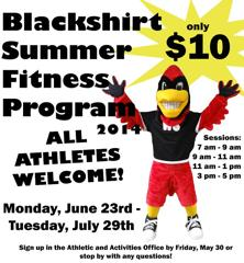 Blackshirt Summer Fitness
