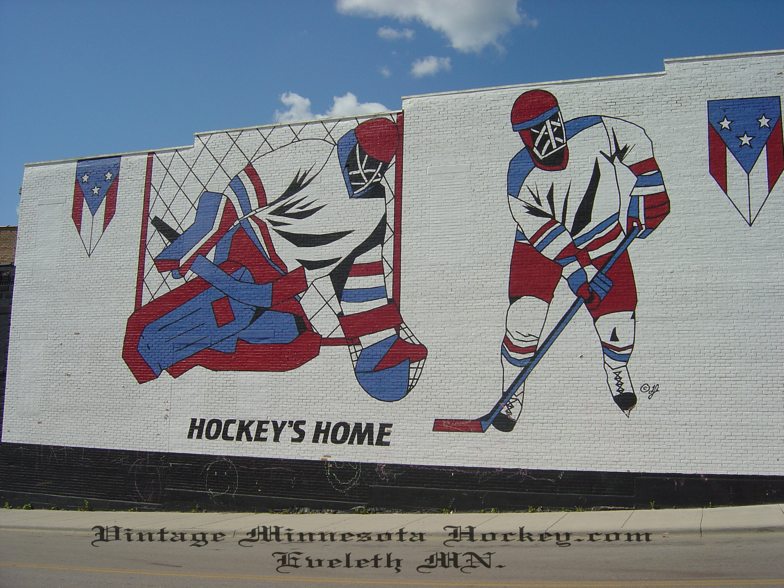 christian brothers hockey on september 16 1995 the stick was dedicated with much fanfare to the hockey players of the past present future and to the spirit of hockey in eveleth