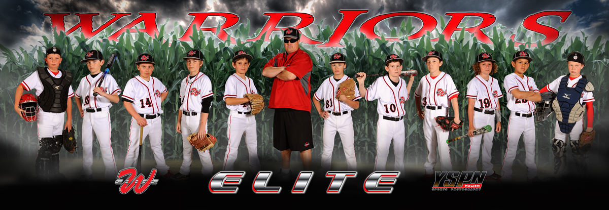 youth sports photography templates - team banners