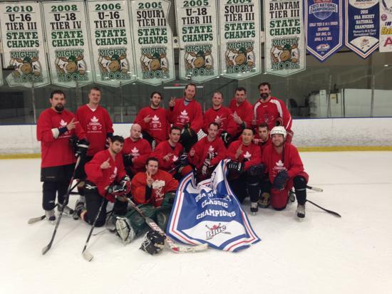 Adult anchorage hockey league