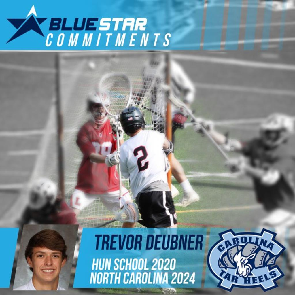 Trevor Deubner Hun Lacrosse UNC Lacrosse Blue Star Lacrosse