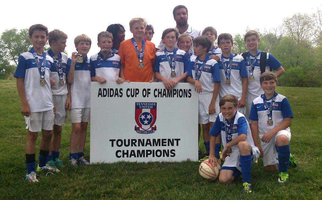 Champions photo of TSC U12 Premeir South Team
