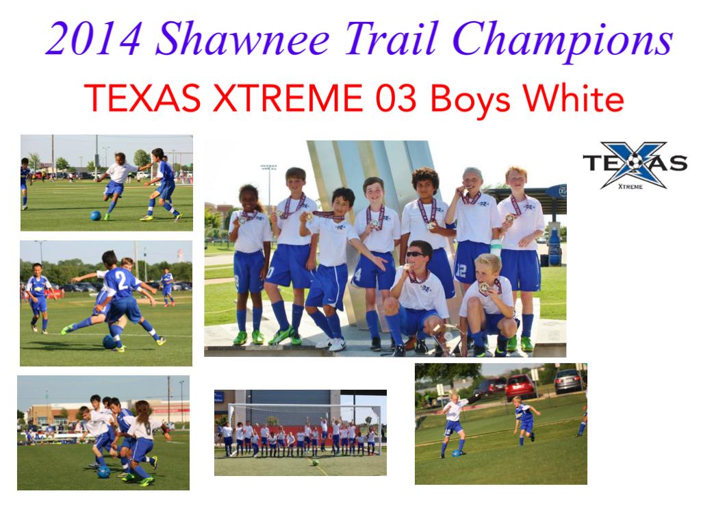 2014 Shawnee Trail Champions