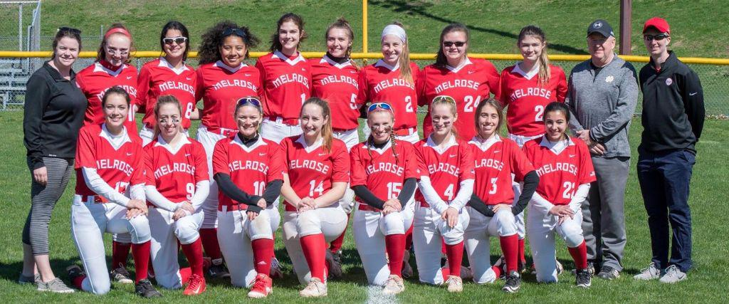 Melrose HS Softball Runs April Vacation Clinic